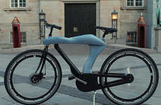 This Electric Bicycle Has an Aerodynamic Body Inspired by Sports Cars