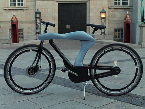 Automotive E-Bike Designs - This Electric Bicycle Has an Aerodynamic Body Inspired by Sports Cars