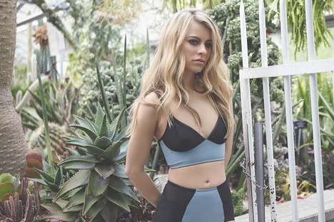 Adaptable Lingerie Lines - The Fortnight Spring/Summer 2015 Collection is Evidently Multifaceted