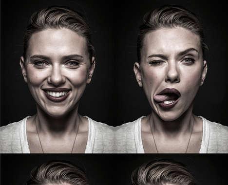Silly Celeb Photo Series