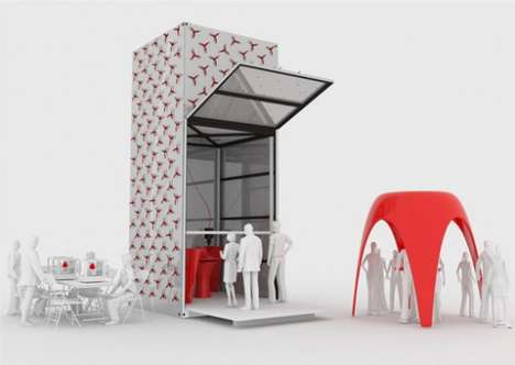Pavilion-Printing Pavilions - A Hi-Tech Room Printer Can Create Small Buildings Quite Resourcefully