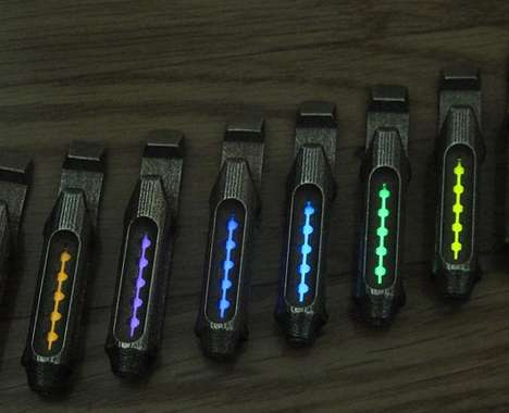 Multifunctional 3D-Printed Flashlights
