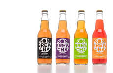 Nutritious Kombucha Beers - Kombrewcha Gives the Alcoholic Beverage a Healthy Spin