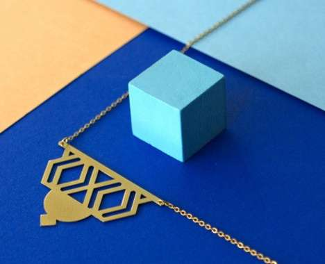 Geometric Art Deco Jewelry