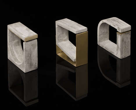 Concrete Architectural Jewelry