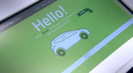 Automotive Web Shops - Rockar Hyundai Makes Buying a Car as Easy as Online Shopping