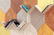Modular Wall Panel Solutions - Prokk's Wall Attachments Can be Creatively Customized by Users