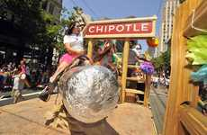 Vegan Burrito Campaigns - Chipotle is Offering Free Burritos as Part of a One-Day Promotion