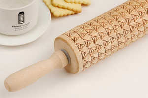 Harry Potter and the Deathly Hallows Inspired the Embossed Rolling Pin