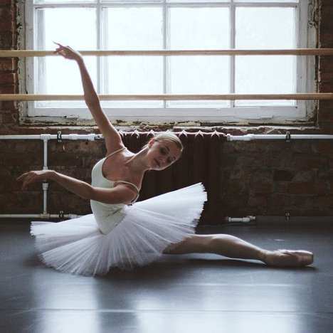 Artistic Ballerina Photography - Darian Volkova's Soul in Feet Showcases the Classical Dance Style