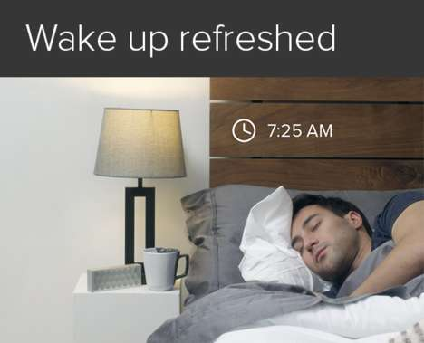 Temperature-Splitting Mattress Covers - The Luna Mattress Cover Turns Your Bed Into a Smart Bed