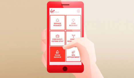 Hotel Phone Apps - Virgin's First Hotel Launches with Lucy, a Personal Comfort App