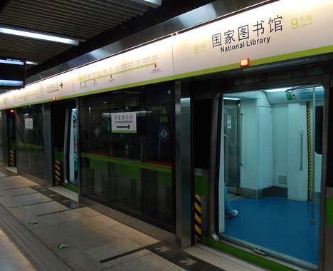 QR-Accessible Subway Libraries