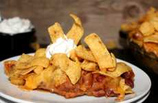 Gargantuan Corn Chip Pies - The Oh, Bite It! Extra Large Frito Pie Takes Things to the Next Level