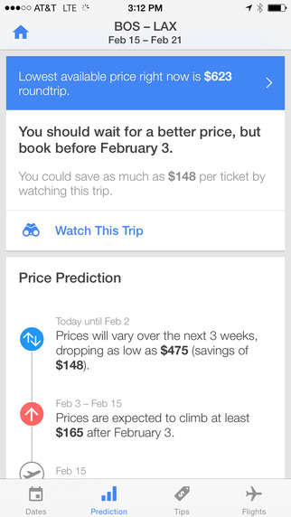 Flight Advisor Apps - Hopper Analyses Flight Prices and Tells You the Best Time to Book