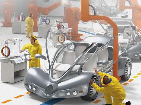 3D-Printed Auto Opportunities - Researchers Point the Way to Innovative Applications in Car Making