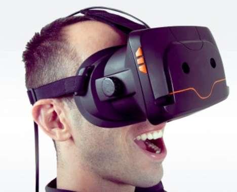 70 Degrees of Virtual Reality Headgear