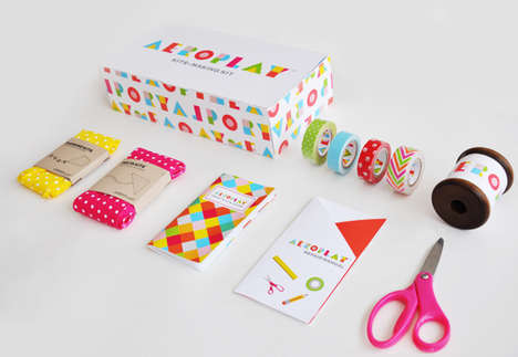 Responsible Kite Packaging - Lily Li's Versatile Design Can be Repurposed as Storage and Supplies