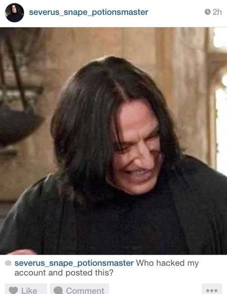 Misunderstood Wizard Accounts - Severus Snape on Instagram is Delightfully Depressing