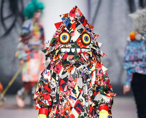 Whimsical Monster Fashion