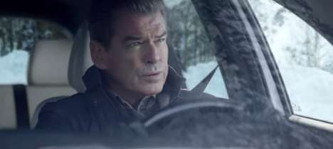 Anticlimactic Auto Ads - This Kia Super Bowl Commercial Ad Steers Away from Action-Packed Scenes