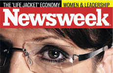 Unphotoshopped Magazine Covers - Sarah Palin on Newsweek