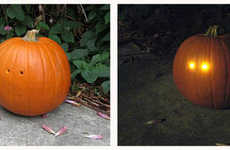 DIY Light-Sensitive Jack o Lanterns