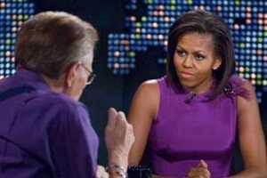 Michelle Obama Hearts Sarah Palin
