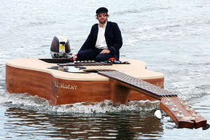 The Guitar Boat