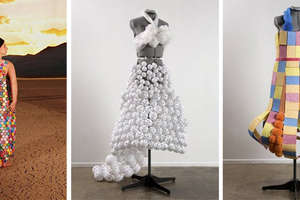10 Dresses Made of Random Objects