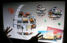 Interactive 3D Tourist Info