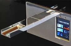 Touch Screen Bathroom Fixtures