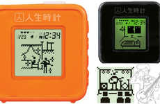 Tamagotchi Life Clocks - The Jinsei Tokei Alarm