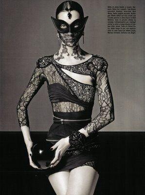 Harlequin Goth Fashion