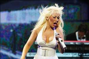 Christina Aguilera at Africa Rising Festival