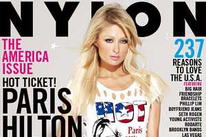 NYLON Paris Hilton for President Shoot