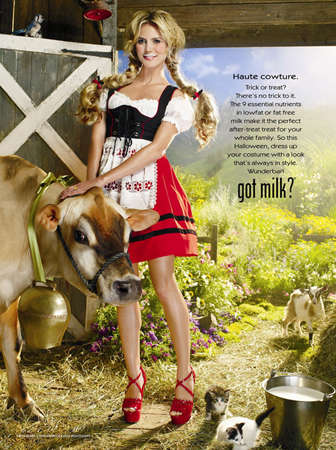 Yodeling Alp Girls to Promote Dairy