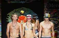 Tattoo-Inspired Swim & Streetwear - Ed Hardy Mercedes-Benz Spring 2009