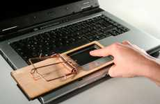 Mouse Pads Mousetraps - The Laptop Finger Trap