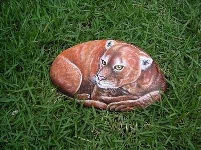 DIY Pebble Animals