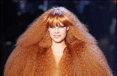 Catwalk Afros - Sonia Rykiel's 40th Anniversary at Paris Fashion Week