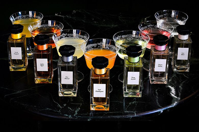 Perfume-Inspired Cocktails