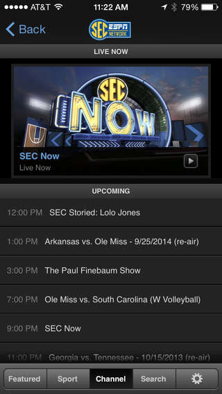 Sports Streaming Apps - The WatchESPN App Lets You Watch Live Sports on a Mobile Device