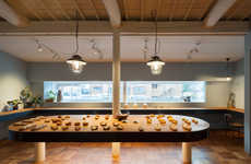 Renovated Domestic Bakeries - This Homestyle Bakery Was Formerly a Residence