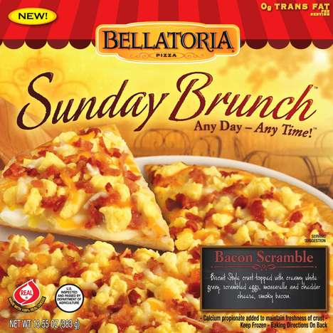 Easy Breakfast Pizzas - Bellatoria's Sunday Brunch Pizzas Are Loaded with Breakfast Goodness