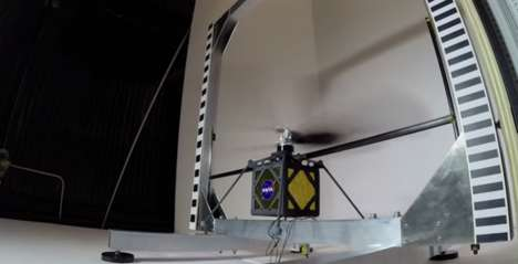 Robotic Martian Scouts - The Mars Helicopter is a Solar-Powered Robotic Explorer