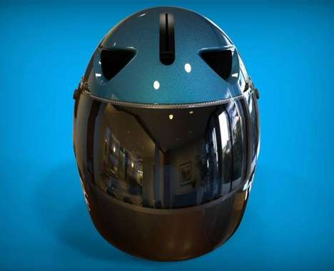 Aerodynamic Smart Helmets