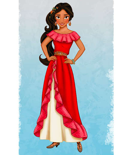 Latina Disney Princesses - Elena of Avalor Brings Added Culture to Preschool Programming