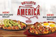 Regional Breakfast Dishes - Denny's Skillets Across America Focuses on Signature State Dishes