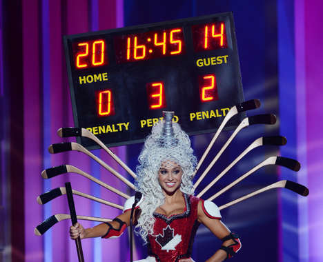 Pageant Hockey Costumes